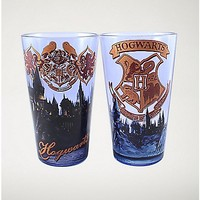 Hogwarts Harry Potter Pint Glasses - 16 oz. - Spencer's