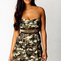 Milly Camouflage Dress