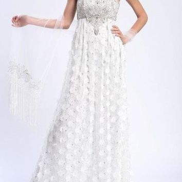 Sue Wong Long Formal Dress Evening Gown Prom Wedding