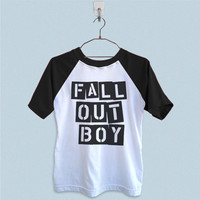 Raglan T-Shirt - Fall Out Boy Logo