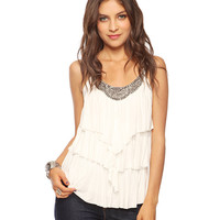 Tiered Bib Cami | FOREVER21 - 2000016562