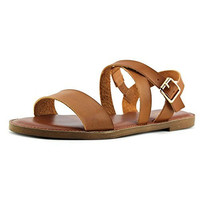 Madden Girl Briiii Open-Toe Synthetic Slingback Sandal