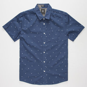 VOLCOM Royal Flush Mens Shirt | S/S Shirts