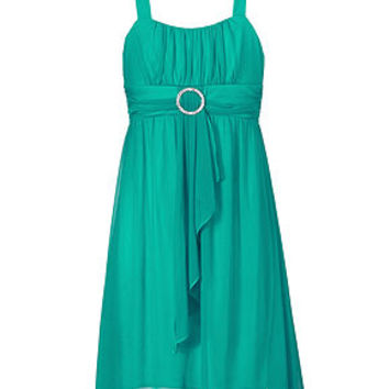 Ruby Rox Girls Dress, Girls Sheer Matte Dress - Kids Girls 7-16 - Macy's