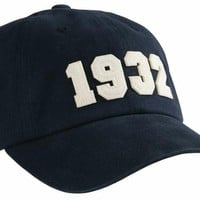 1932 (SEC Founding Year) Hat in Navy by Southern Proper
