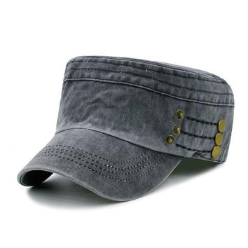 Flat Army Caps for Men