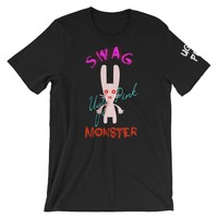 UGLY PINK SWAG MONSTER MENS T-SHIRT
