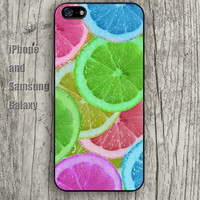 colorful Cartoon lemon iphone 6 case 6 plus iPhone 5 5S 5C case Samsung S3, S4,S5 case, Ipod touch Silicone Rubber Case, Phone cover