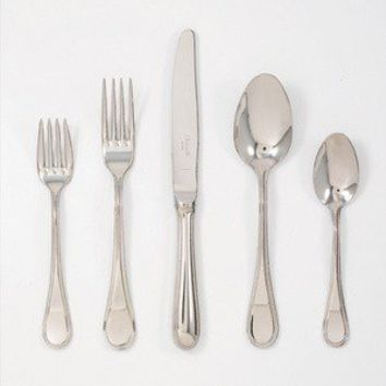 Christofle Stainless Steel Mimosa Salad Fork 2436-013