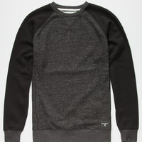 Billabong Balance Mens Sweatshirt Heather Black  In Sizes