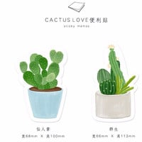 Cacti Love -Stickies