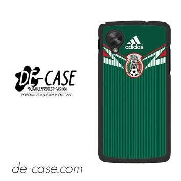 Mexico Soccer Jersey For Google Nexus 5 Case Phone Case Gift Present YO