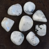 RAINBOW MOONSTONE White Light Stone - Activate Your 7 Chakras - Radiate Love & Light