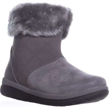 Clark Cabrini Reef Lined Booties, Dark Grey, 9.5 W US