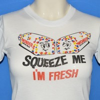 80s Wonder Bread Squeeze Me I'm Fresh t-shirt Youth Medium