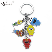 Sesame Street Keychain ELMO COOKIE MONSTER Trinkets Accessories Gadgets Sesame Street Key Chains for Men Women Gift-in Key Chains from Jewelry & Accessories on Aliexpress.com | Alibaba Group