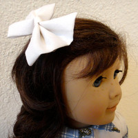 Hair Bow Doll Toddler Girl White
