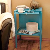 End Table with Hidden Tray
