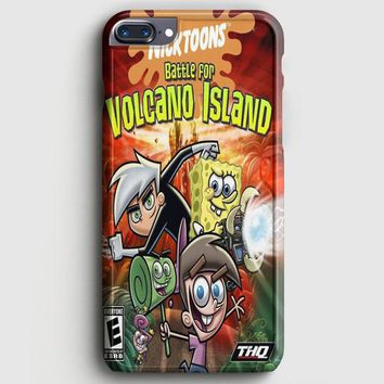 Nickelodeon Game Battle For Volcano Island iPhone 8 Plus Case
