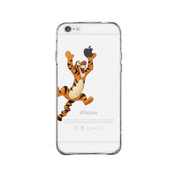 Winnie The Pooh As Tigger iPhone 6 Clear Case