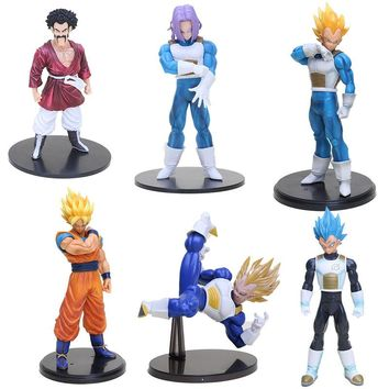 Anime brinquedos Dragon Ball Z figure action son goku MSP vegeta Hercule trunks Soldiers dragonball figure collectible mode toy