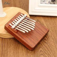 Unique 8 Rosewood African  Mbira Kalimba Finger Instrument