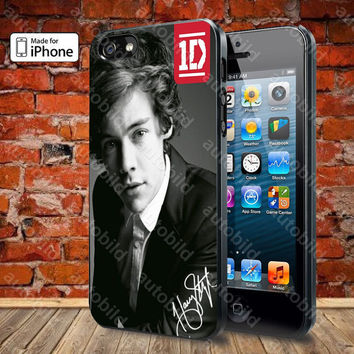 harry style one direction custom Case For iPhone 5, 5S, 5C, 4, 4S and Samsung Galaxy S3, S4