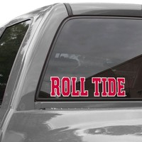 Alabama Crimson Tide WinCraft Perfect Cut Decal-