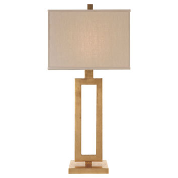 Tall Mod Table Lamp, Gild, Table Lamps