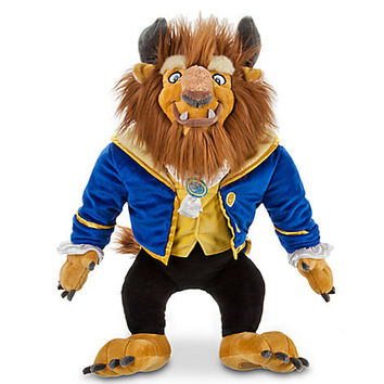 Disney Beast Plush - Beauty and the Beast - 17'' | Disney Store