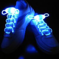 1 Pair New Fashion Candy Colors Magic LED Light Up Shoelaces Shoestring Flash Glow Stick Party Chic Hot = 1958185924