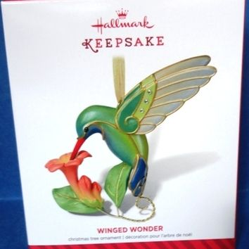 2014 Winged Wonder Hallmark Limited Edition Ornament