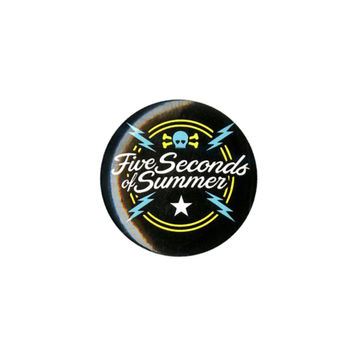 5 Seconds Of Summer Logo Pin