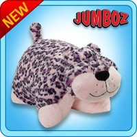Jumboz Plush :: Jumboz LuLu Leopard - My Pillow Pets® | The Official Home of Pillow Pets®