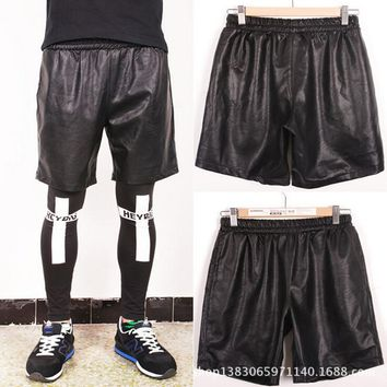 Chyx Leather Short