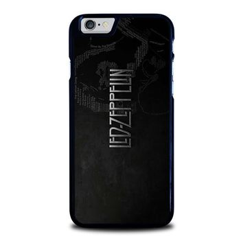 led zeppelin lyric iphone 6 6s case cover  number 1