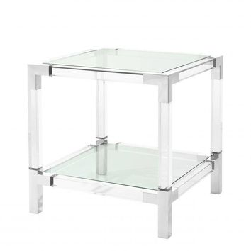 Acrylic Side Table | Eichholtz Royalton
