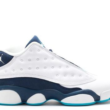 "[FREE SHIPPING] Air Jordan  13 ""Midnight Navy/Hornets"" Basketball Shoes"