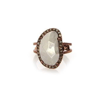 House of Harlow 1960 Jewelry Vertical Sahara Sand Ring