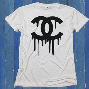 CHANEL hot letters printing T-shirts F