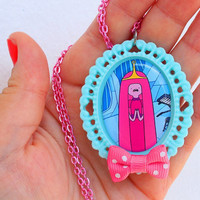 Adventure Time - PRINCESS BUBBLEGUM - Princess Bonnibel Necklace