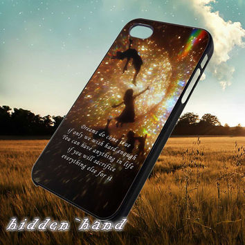 Disney Peterpan stars Quotes,Case,Cell Phone,iPhone 5/5S/5C,iPhone 4/4S,Samsung Galaxy S3,Samsung Galaxy S4,Rubber,13/07/8/Ar