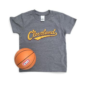 Cleveland Athletic Script - Toddler Tshirt