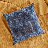 Stay Home Pillow - Urban Outfitters