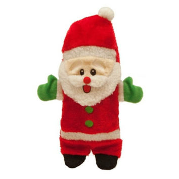 Christmas Bottle Buddy Squeaky Santa