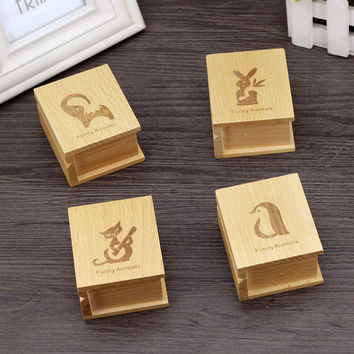 Home Decor Creative Birthday Gifts Decoration Animal Music Box Accessory Box [6282819718]