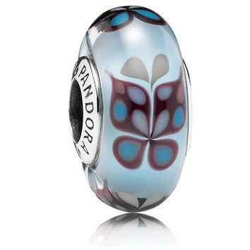Authentic Pandora Jewelry - Butterfly Kisses Blue