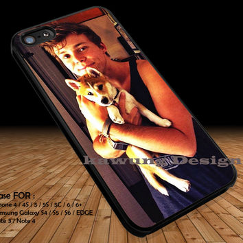 Cute Guy with His Dog iPhone 6s 6 6s+ 5c 5s Cases Samsung Galaxy s5 s6 Edge+ NOTE 5 4 3 #music #5sos DOP2136