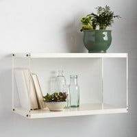Acrylic Sided Shelf