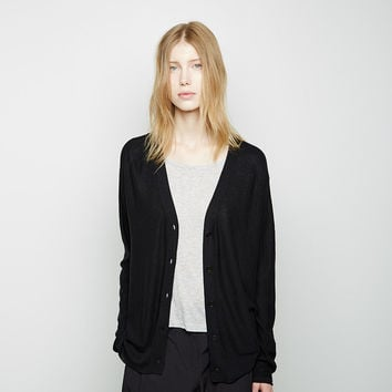 Plaited Cardigan by T by Alexander Wang